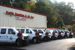 skilled technicians from Keith Heating and Air offer Air Conditioning Repair Chattanooga TN